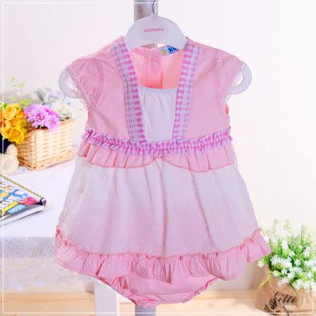 (購物車)魔法Baby ~小公主套裝粉系(小洋裝+褲子)~時尚設計童裝~k22100