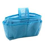 【iSFun】藍色網狀*隨身多格包中袋