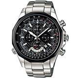 CASIO EDIFICE 競速科技多環計時賽車錶(碳纖維面)