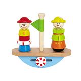 德國Hape-愛傑卡小丑平衡船
