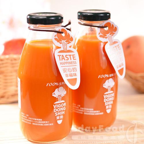 【東勢果菜生產合作社】100%全果蔬果汁24瓶(290ml/瓶)
