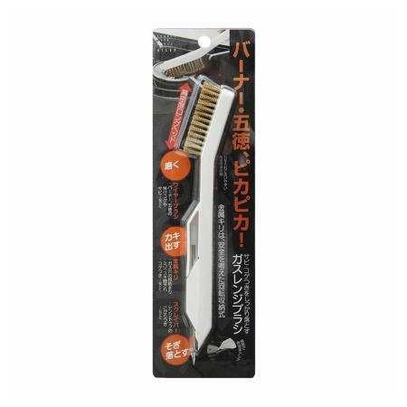 日本aisen瓦斯爐不鏽鋼刷(附小尖錐)