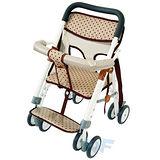 【MIT台灣童車】兩用機車椅 ( 棕 / 深藍 )