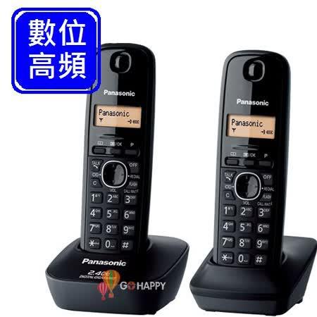 Panasonic 2.4GHz數位無線電話 KX-TG3412 (經典黑)