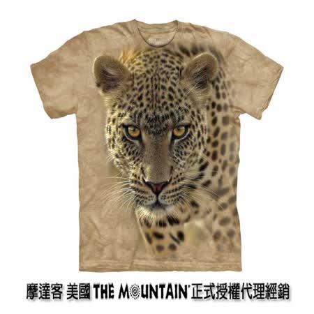 『摩達客』(預購)美國進口【The Mountain】自然純棉系列 覓食豹設計T恤