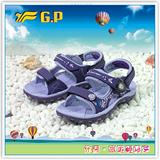 【G.P】阿亮代言 童-舒適磁釦涼拖兩用鞋 G7270B-41(紫色)共三色
