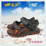 【G.P】阿亮代言~男/女-排水功能休閒涼鞋 G7211-42(橘色)共三色
