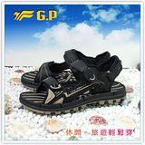 【G.P】阿亮代言~男/女-排水功能休閒涼鞋 G7211-72(杏色)共三色