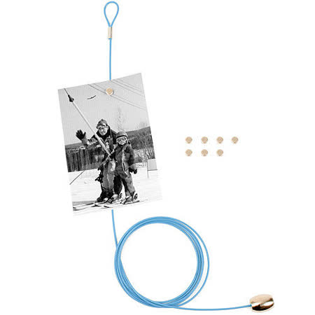 《KIKKERLAND》Cable 線型相片架(藍)