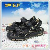 【G.P】阿亮代言~男/女-排水功能休閒涼鞋 G7216-72(杏色)共二色