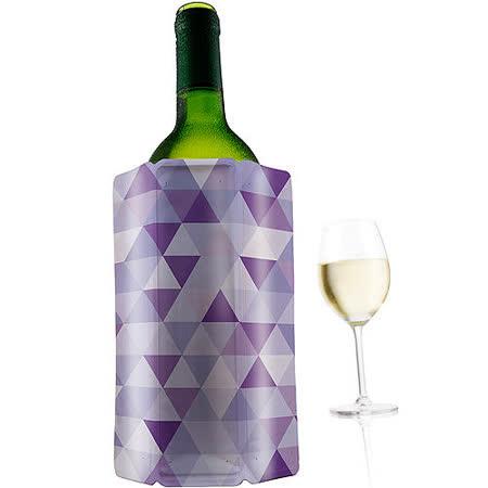 【部落客推薦】gohappy快樂購《VACU VIN》Wine 軟性保冷冰桶(紫)價錢廣三 百貨