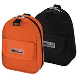 【World Polo】炫橘橢圓盥洗袋(2入)