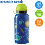 美國兒童防水亮眼背包+環保不鏽鋼水瓶+水壺袋組