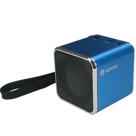 【KINYO】音樂盒讀卡喇叭(MPS-372)