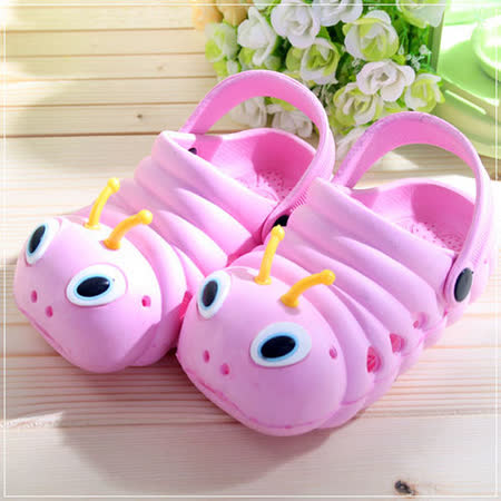 (購物車)魔法Baby~毛毛蟲輕便鞋(粉紅)~時尚設計童鞋~S5980