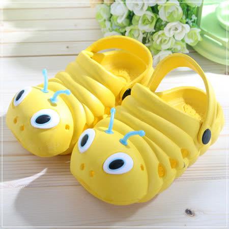 (購物車)魔法Baby~毛毛蟲輕便鞋(黃)~時尚設計童鞋~S5997