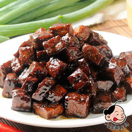 《大嬸婆》蔬果滷味-椒麻骰子豆干(150g)-任選