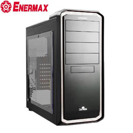 保銳 黑魅騎士 ECA3254 電腦機殼(黑白色)