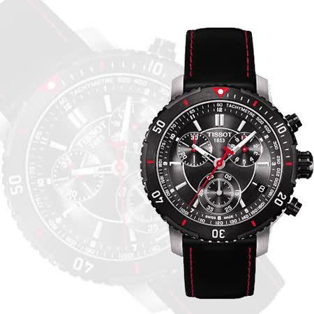 TISSOT PRS 200 競賽傳奇計時腕錶(T0674172605100)