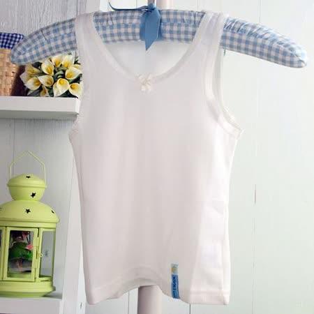 (購物車)魔法Baby~台灣製造女童夏季純棉背心兒童內衣~K06448
