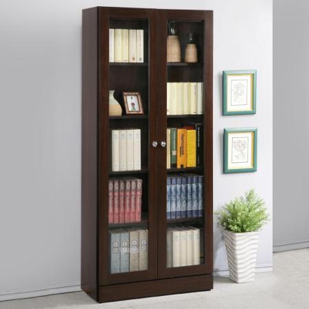 幸福2.7尺雙門書櫃