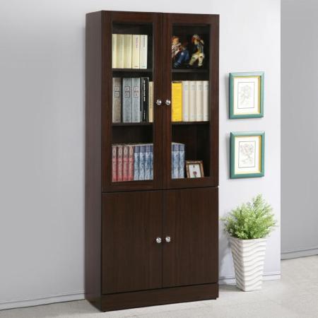 幸福2.7尺四門書櫃