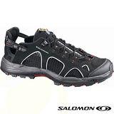【索羅門 SALOMON】男款 冒險旅遊系列 TECHAMPHIBIAN 3 輕量透氣健走健行鞋