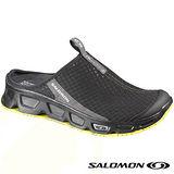 【索羅門 SALOMON】男款 戶外生活系列 RX Slide 2 輕量健走健行拖鞋.懶人拖.透氣.快乾.戶外休閒/黑 128362