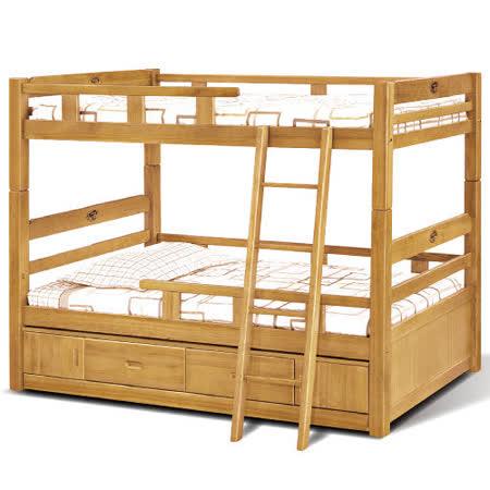 《顛覆設計》賈克抽屜型雙層床