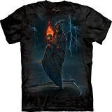 『摩達客』美國進口【The Mountain】自然純棉系列 死神火球 設計T恤 (預購)
