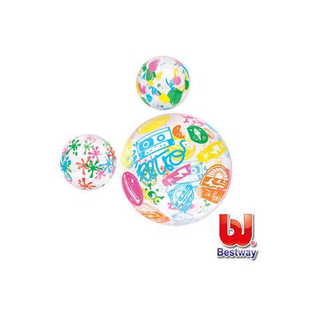 (購物車)《購犀利》美國品牌【Bestway】20吋設計家彩繪充氣水球(款式隨機出貨)
