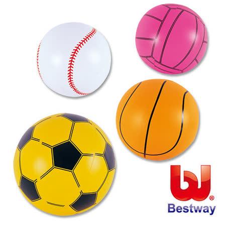 (購物車)《購犀利》美國品牌【Bestway】16吋運動造型充氣水球(4種造型隨機出貨)