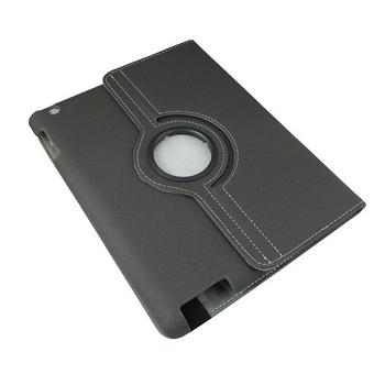 L6斜紋款new ipad(ipad3)旋轉保護皮套