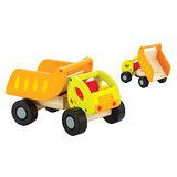諾貝兒益智玩具【Classic world】客來喜-德國經典木玩 傾卸卡車 幼兒益智教具