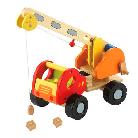 Classic world 磁力吊車 幼兒益智教具