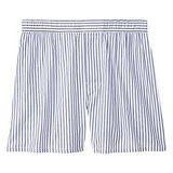 GAP 男時尚藍白色條紋平口內著2件組【預購】
