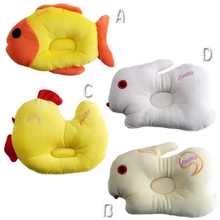 超可愛動物造型嬰幼兒凹枕~嬰幼兒用品~k00392