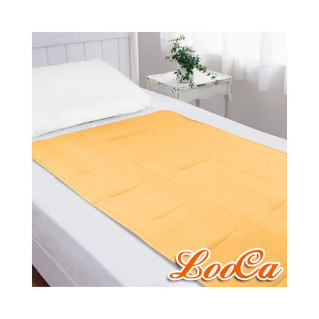 【LooCa】超涼感凝膠床墊(漾橙黃)