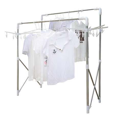 【LTB】懂媽咪 日式魔法變型曬衣架