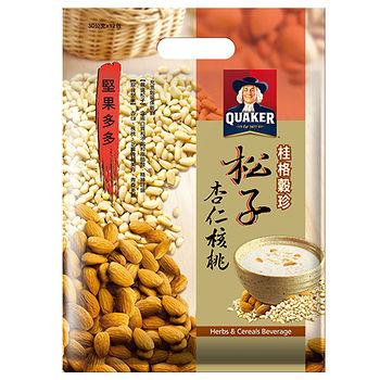 桂格穀珍堅果多多-松子堅果燕麥30g*12入/ 袋
