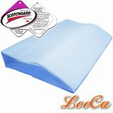 【LooCa】吸濕排汗護肩寶背記憶枕(1入)