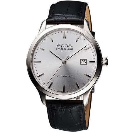 epos 原創系列超薄自動機械腕錶(3420.152.20.14.15)