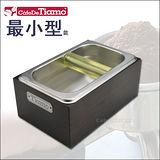 Tiamo 不鏽鋼咖啡渣桶+木盒 (最小) BC2406