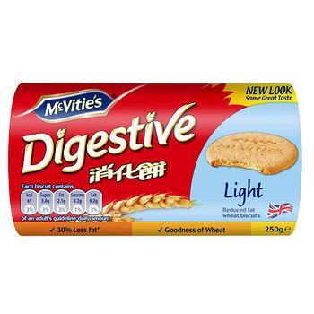 英國麥維他消化餅-Light輕怡250g