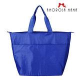 【Amorosa Mama】超大容量。多用途媽咪外出包/購物包(藍色)