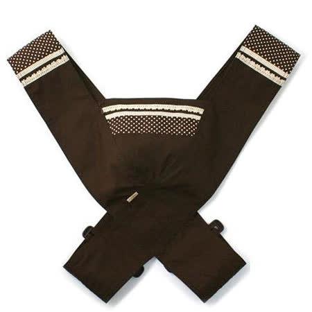 嬰兒減壓背帶/寶寶背帶-咖啡(100%純棉,可調整長度)