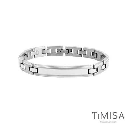 【TiMISA】純粹品味-細版 純鈦鍺手鍊