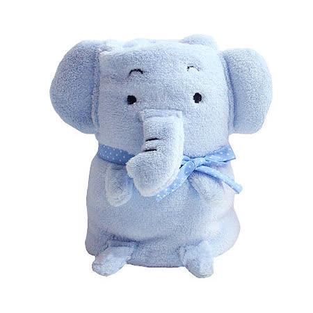小小象可愛造型毯/嬰兒蓋毯/午睡毯/冷氣毯 約110*85cm