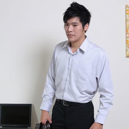 JIA HUEI  長袖柔挺領吸濕排汗防皺襯衫 灰色 [台灣製造]