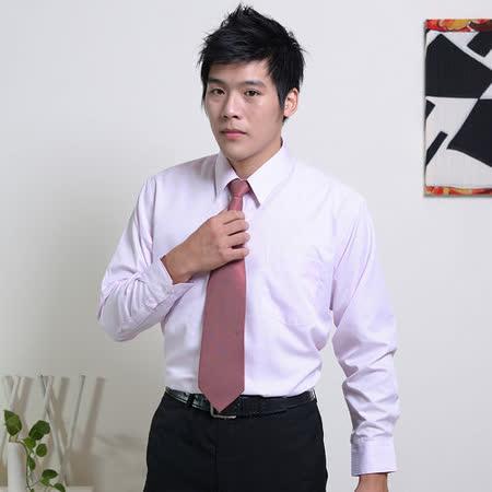 JIA HUEI  長袖柔挺領吸濕排汗防皺襯衫 粉色 [台灣製造]